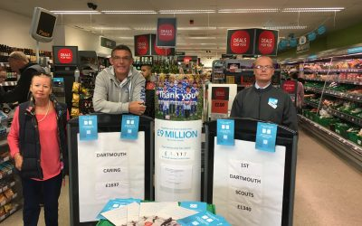 Co-op and their members raise £1640 for Dartmouth Caring